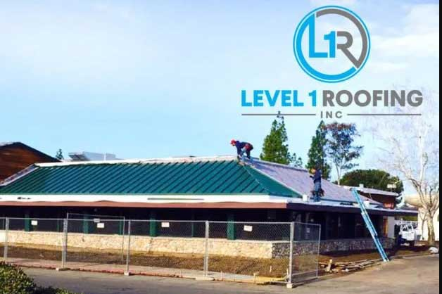 commercial Roof installation level 1 roofing
