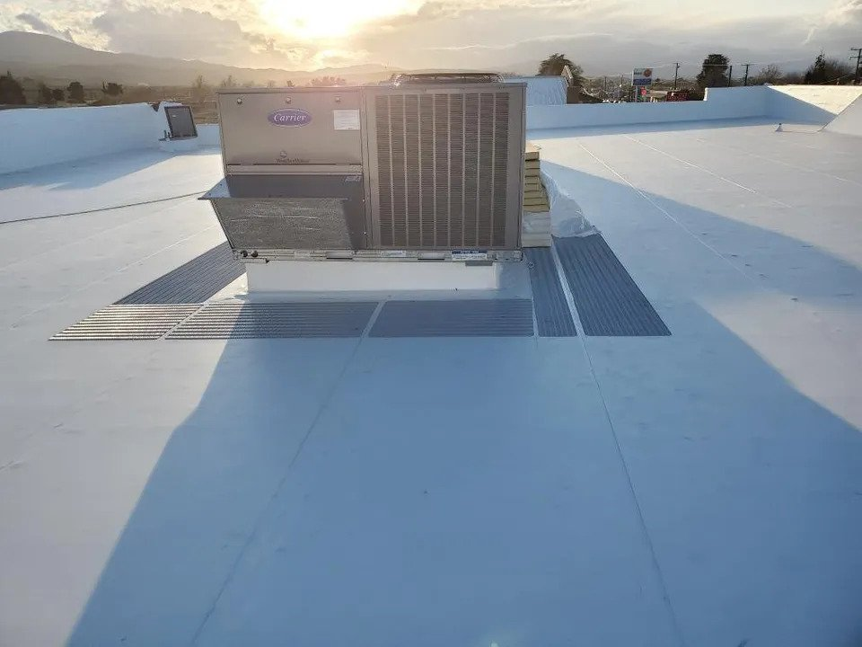 Single-Ply PVC roofing system