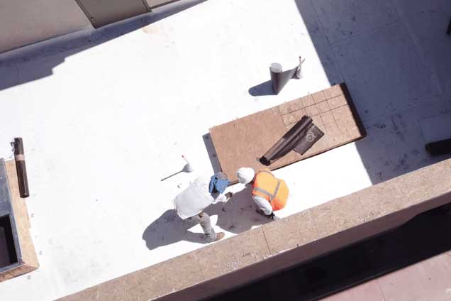 commercial Roof Inspection level 1 roofing