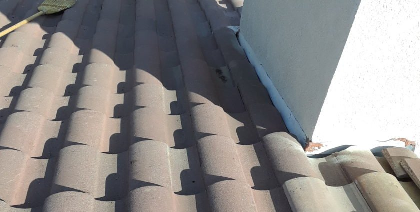 Tile Leak Roof Repair On A Murrieta Home