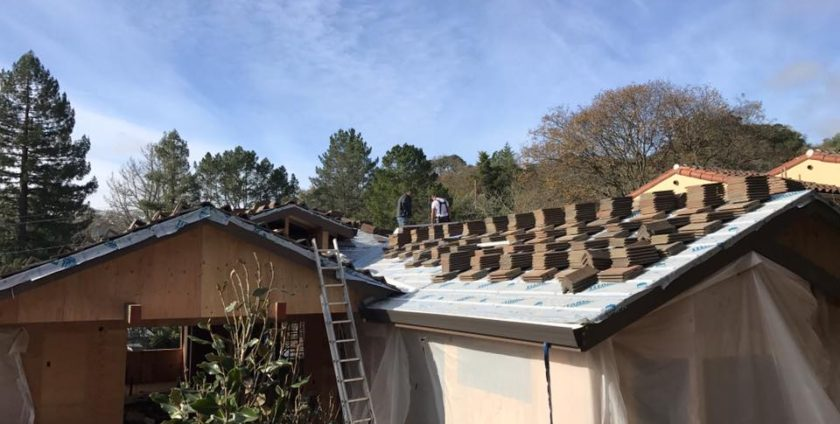 New Construction Tile Roof