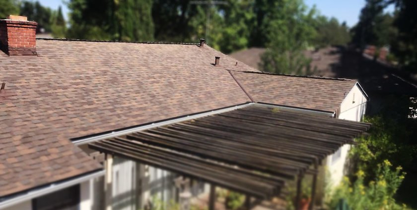 Sacramento Roof Replacement – New Sheathing and Shingles