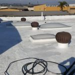 Silicone Roof Restoration on Orangethorpe Ave in Fullerton