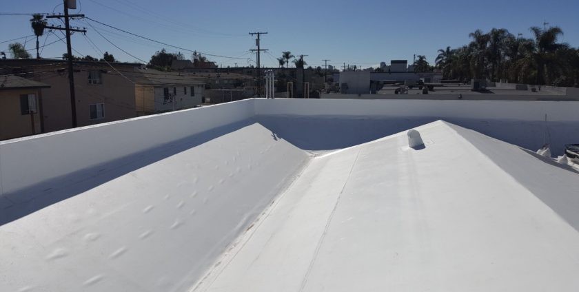 Commercial Roofing Long Beach - CVS Building Roofed With Single Ply PVC