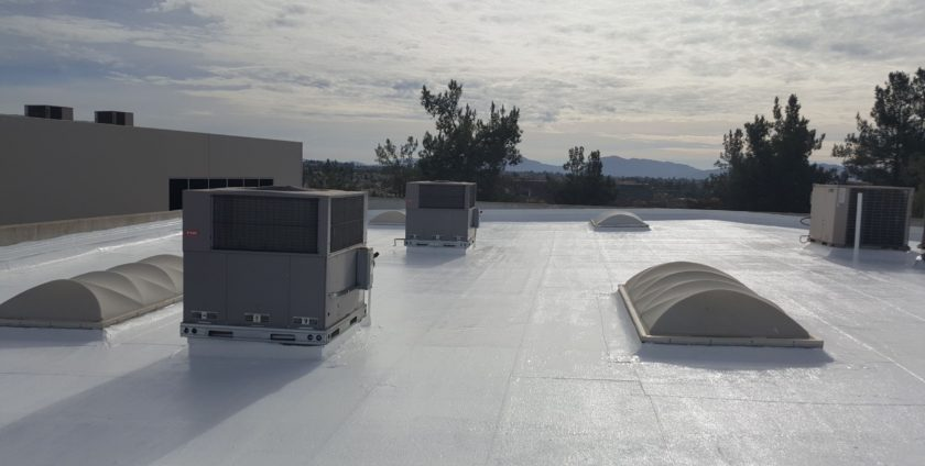 Roof Restoration – GE Enduris Silicone – Murrieta CA